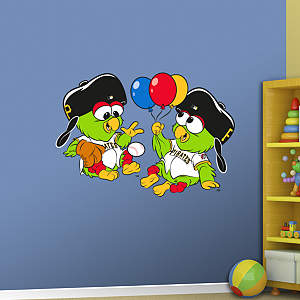 Pittsburgh Pirates Baby Mascot Fathead Wall Decal